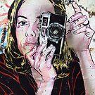 Girl takes polaroid by James1980