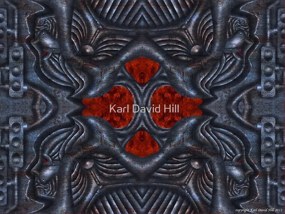 The Infernal Machine (3 0f 4) by Karl David Hill