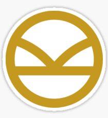 KINGSMAN · Golden Logo Sticker