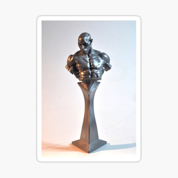 Apollo Collectible Bust by Grey Williamson Sticker