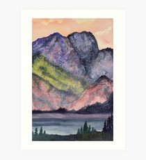 Fire on the Mountain Art Print