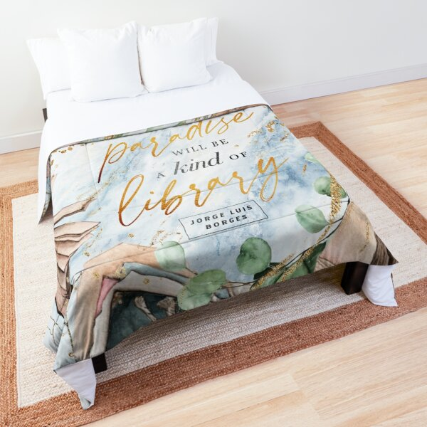 Paradise library Comforter