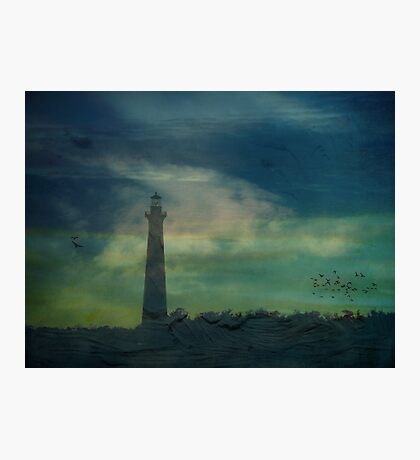 Cape Hatteras Lighthouse at Sunset - Outer Banks, NC Photographic Print