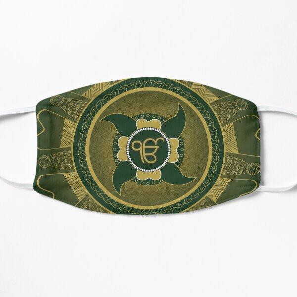 Ik Onkaar Mandala (Emerald) - By SimmyGhatt Mask