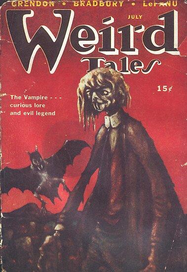Weird Tales Magazine by babydollchic