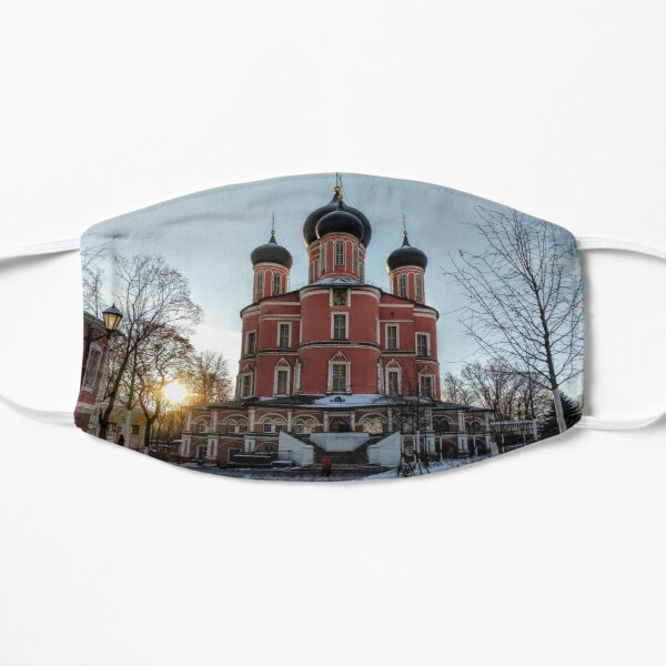 Sunrise - Donskoy Monastery, Moscow Small Mask