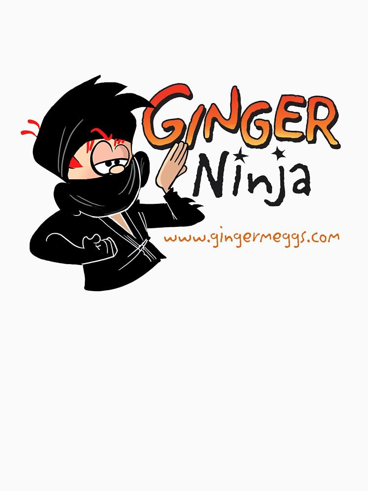Ginger Ninja by gingermeggs