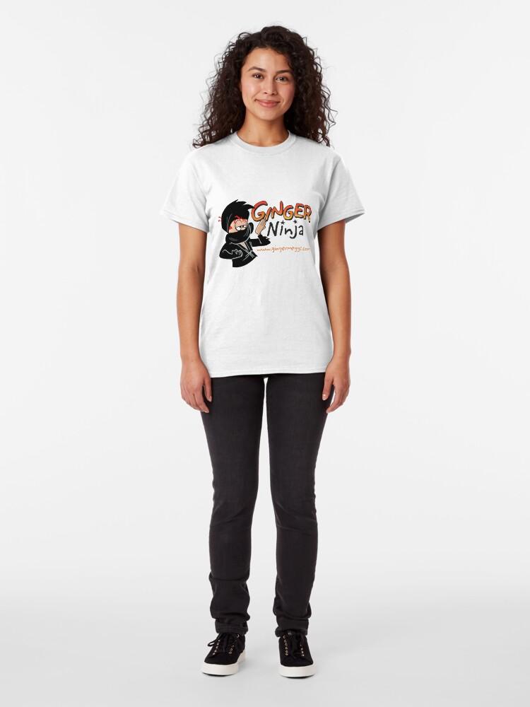 Alternate view of Ginger Ninja Classic T-Shirt