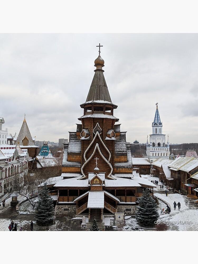 Izmaylovo Kremlin, Moscow in Winter by opheliaautumn