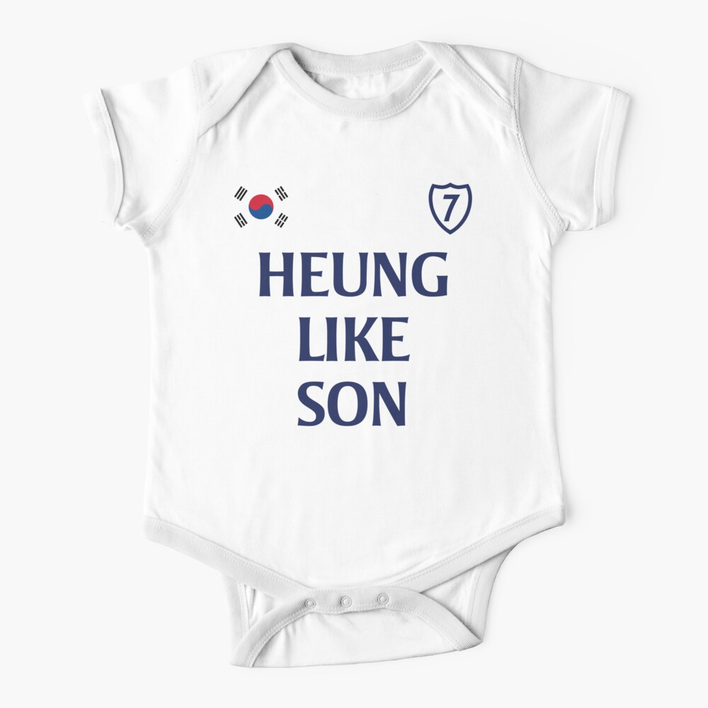 Heung Like Son 1 - White Baby One-Piece