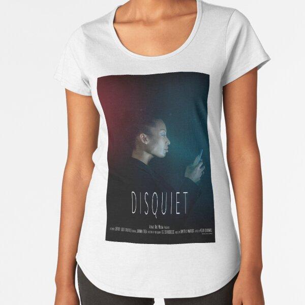 Disquiet Short Film Official Poster Premium Scoop T-Shirt