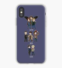 Superwholock Chibis iPhone Case