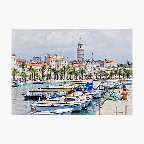Split Waterfront Photographic Print