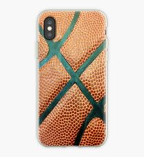 Vinilo o funda para iPhone Baloncesto textura iPhone caso 4 / 4s