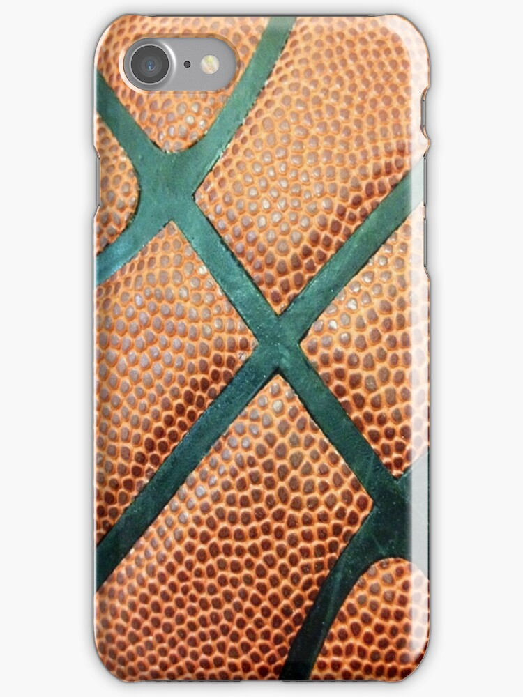 Basketball texture iPhone case 4/4s by RLdesigns