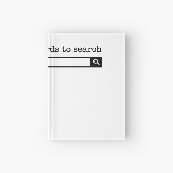 Enter some words to search Hardcover Journal