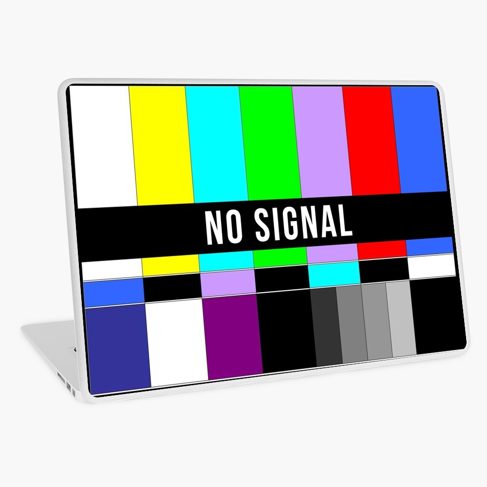 No Signal Laptop Skin