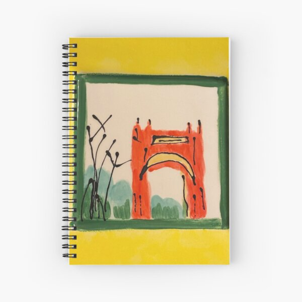 Arch in the Park Spiral Notebook