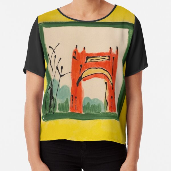 Arch in the Park Chiffon Top