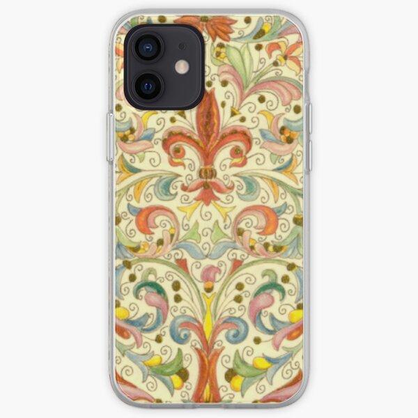 Antique Florentine Paper iPhone Soft Case