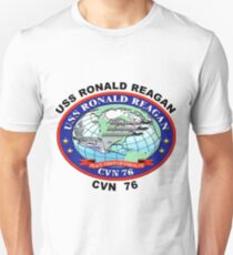 USS Ronald Reagan (CVN-76) Crest T-Shirt