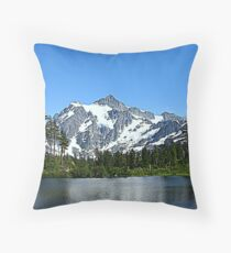 """Northern Cascades"" Throw Pillow"