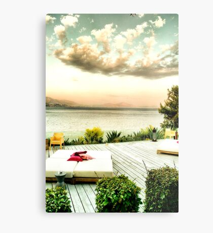 Athens resort Metal Print