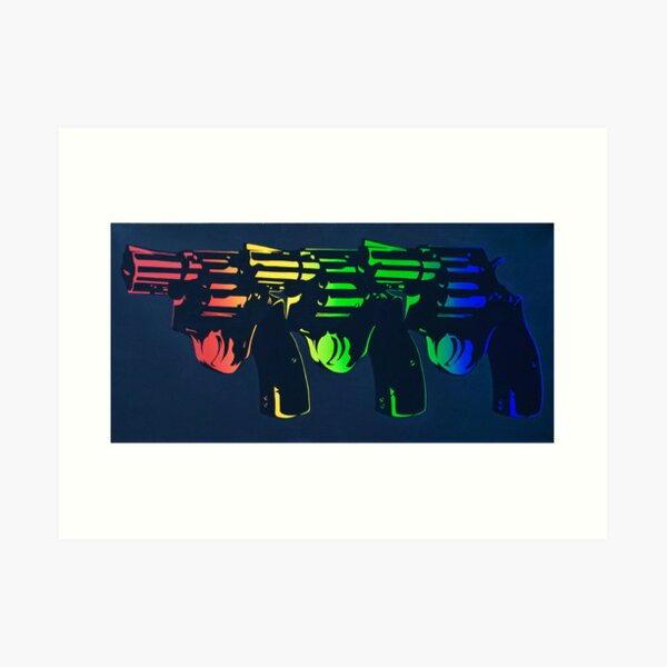 Pop Guns Art Print