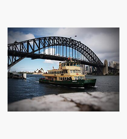 Ferry Photographic Print
