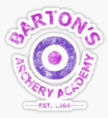 Barton's Archery Academy Sticker