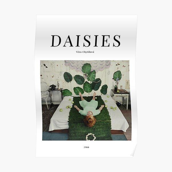 Daisies - Minimalist Movie Poster - Vera Chytilová Poster