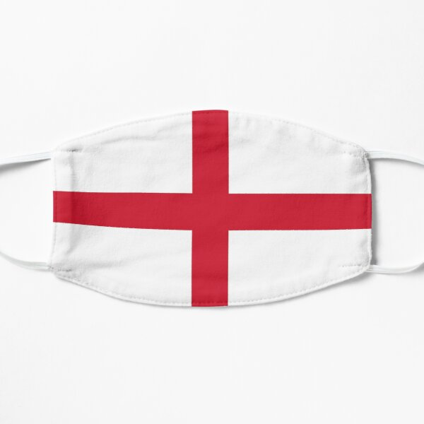 St Georges Cross England National Flag Flat Mask