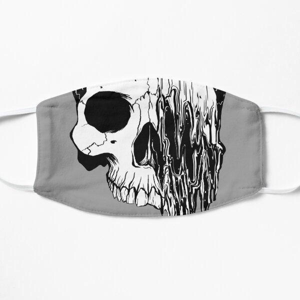 Liquify Skull Drawing, version 2 Flat Mask