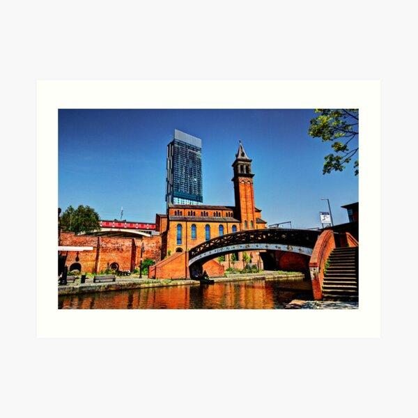 Castlefield Manchester Art Print