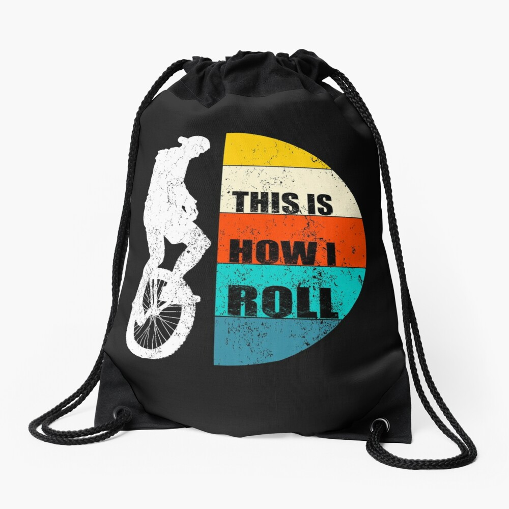 This Is How I Roll Drawstring Bag