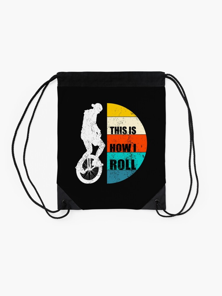 Alternate view of This Is How I Roll Drawstring Bag