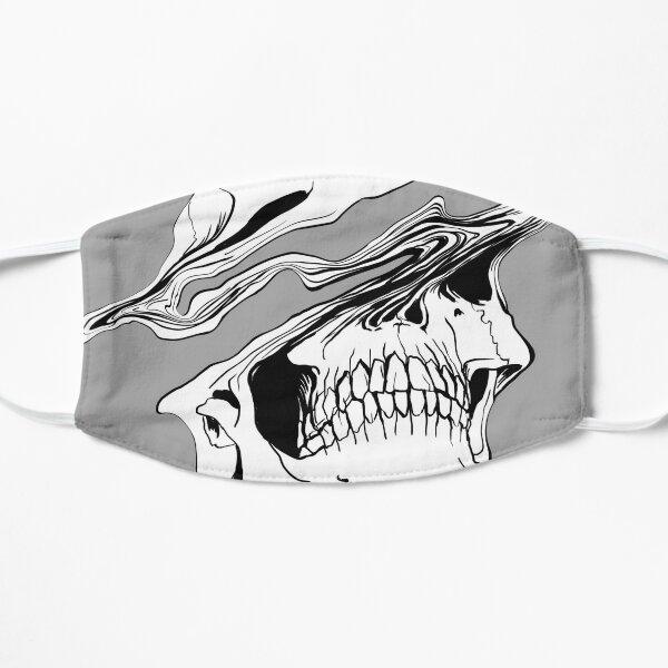 Liquify Skull Drawing Flat Mask