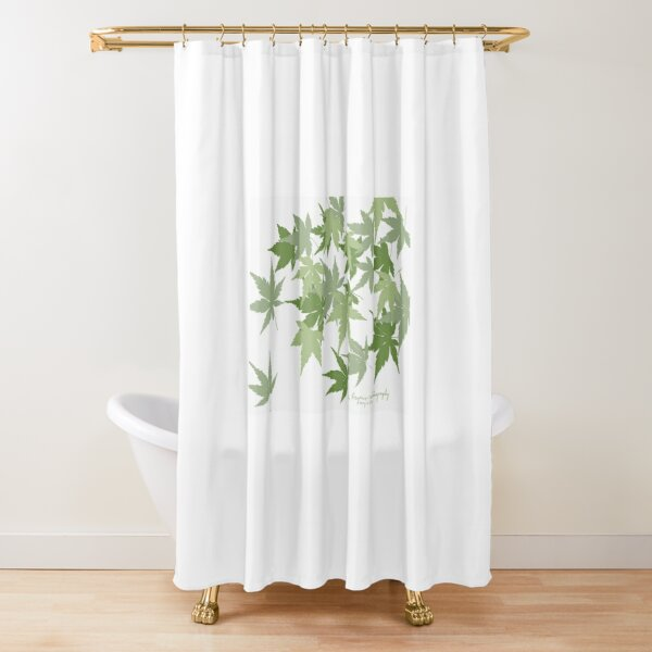 Japanese Maples, Spring 2020 Shower Curtain