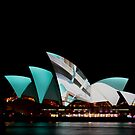 Vivid Opera House by Marius Brecher