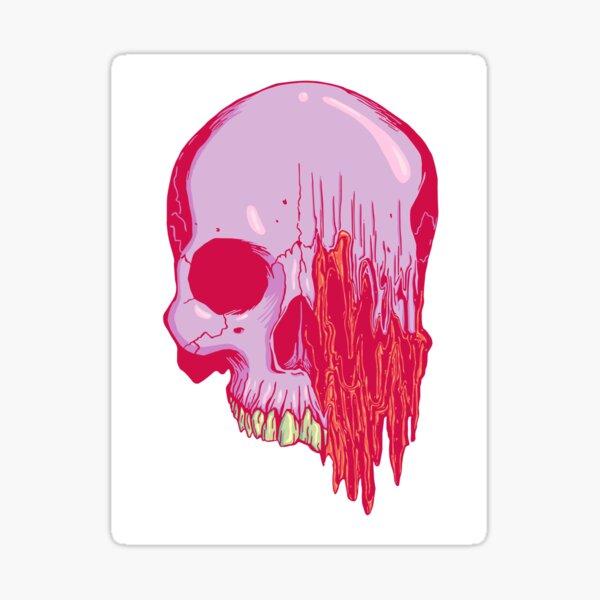 Distort (color) Sticker