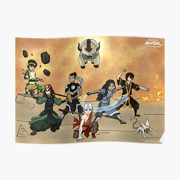 Team Avatar Poster