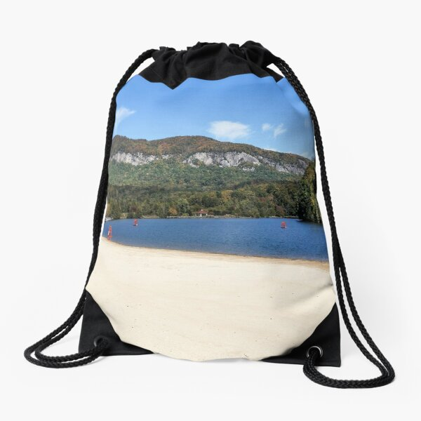 Dirty Dancing Lake Lure Beach Area, NC Drawstring Bag