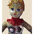 Interiority doll-head by Thelma Van Rensburg