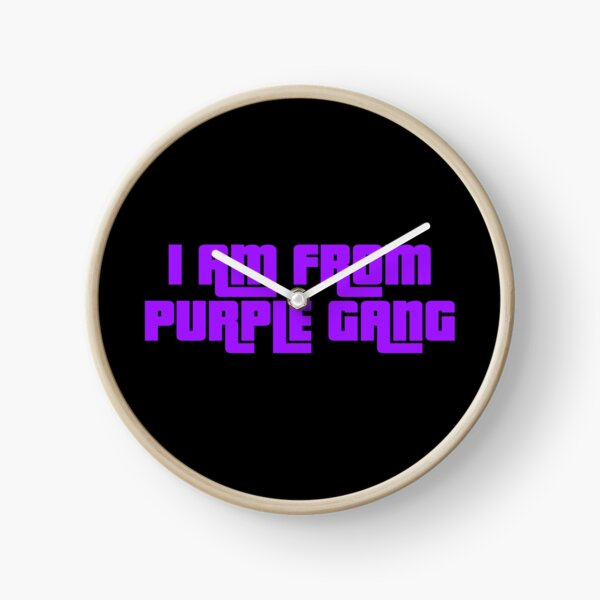 purple gang GTA V Clock