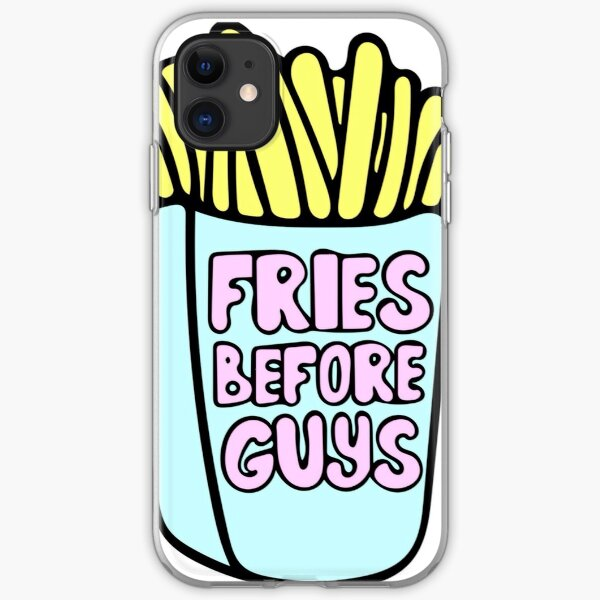 Fries Before Guys iPhone Soft Case