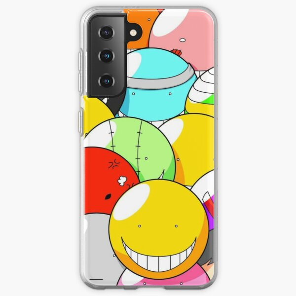 Assassination Classroom - All faces of Koro Sensei fanart ! Coque souple Samsung Galaxy