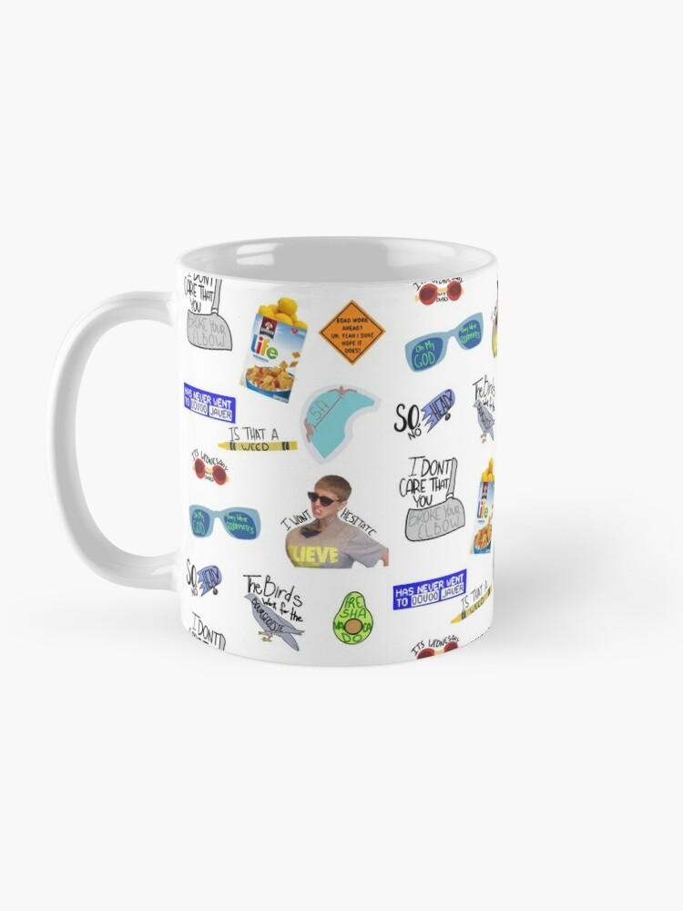Alternate view of Vine Quotes Mug