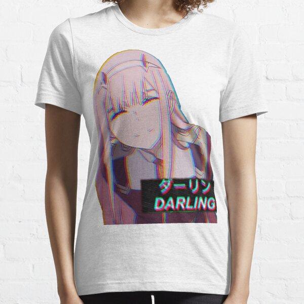 Estética Zero Two Darling Camiseta esencial