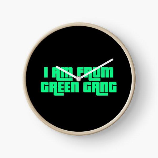 green gang GTA V Clock