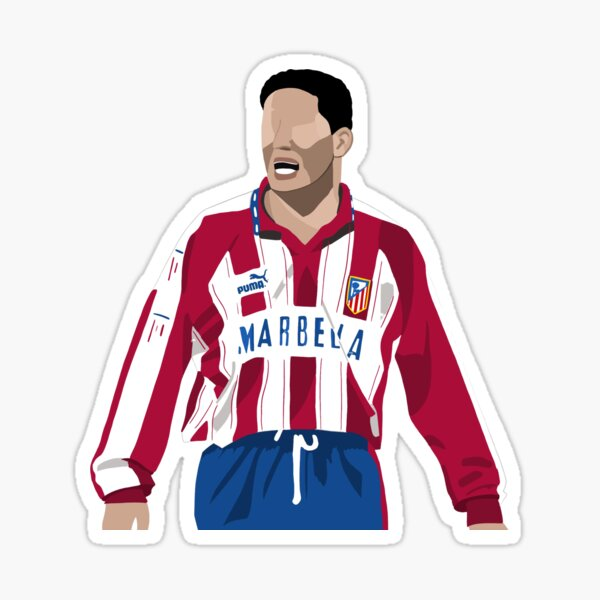 Cholo Simeone (Atlético de Madrid) Pegatina